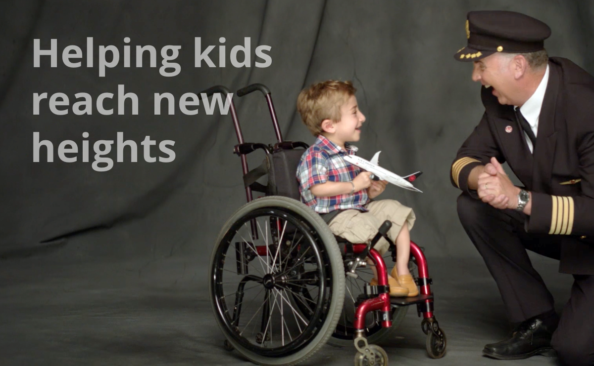 Helping kids reach new heights